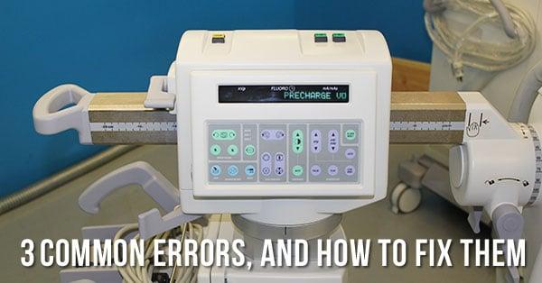common-oec-9800-errors