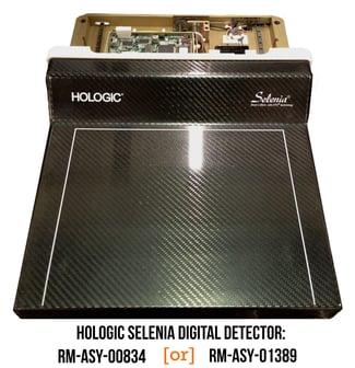 Hologic Selenia Digital Detector