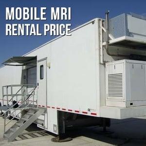 Mobile MRI Rental Price
