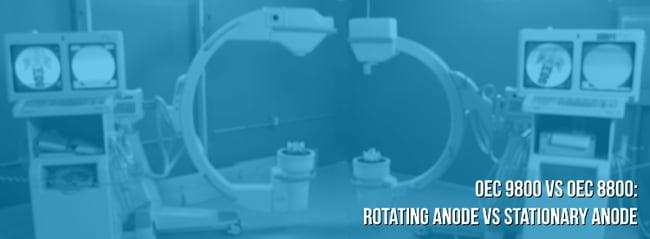 9800 rotating anode vs 8800 stationary anode