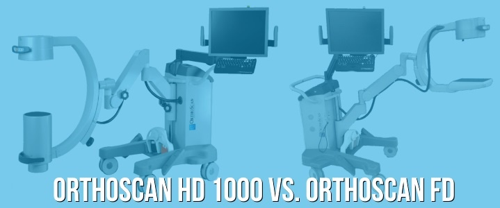 OrthoScan HD 1000 vs Orthoscan FD