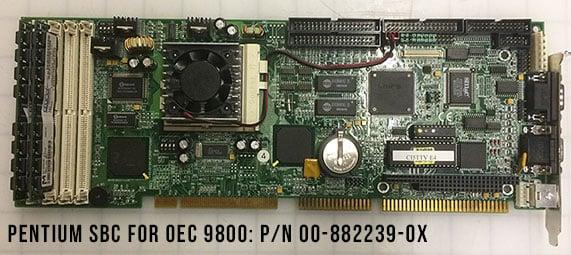 Pentium SBC for OEC 9800