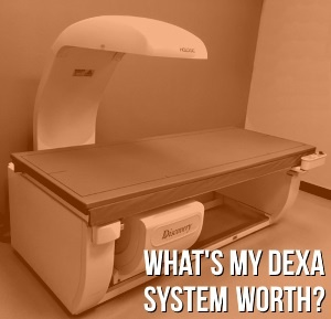 how much does a dexa machine cost