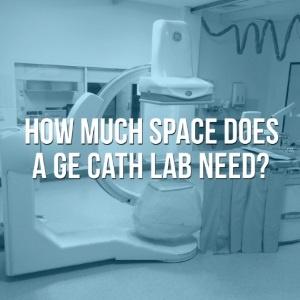 GE Cath Lab Dimensions