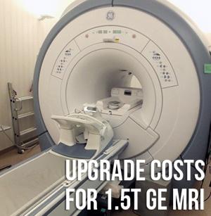 GE MRI Upgrades