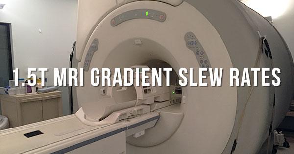 MRI-Gradient-Slew-Rates