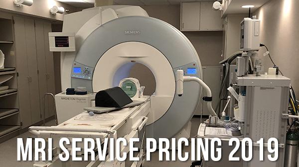 MRI Service Cost Price Info