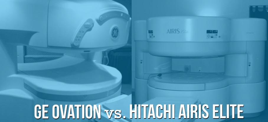 Hitachi Airis Elite Vs Ge Ovation Open Mri Compared