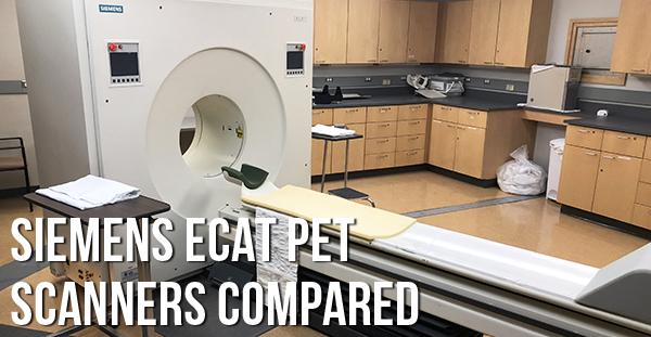Siemens ECAT PET Compared