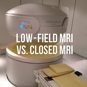 open MRI vs closed MRI